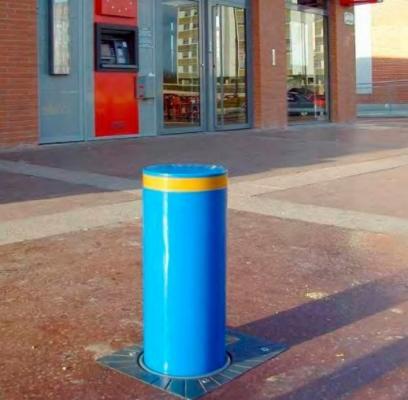 Dissuasore azzurro della serie Cylinder di Urbaco