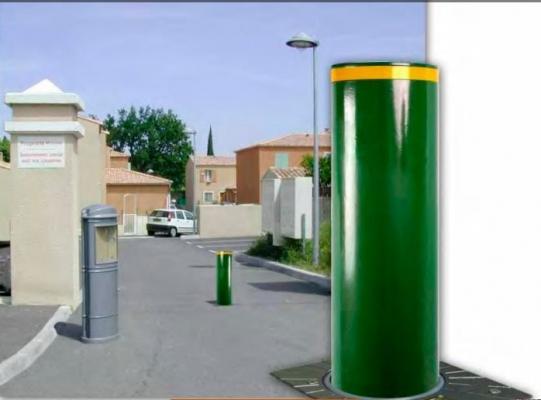Dissuasore verde della serie Cylinder di Urbaco