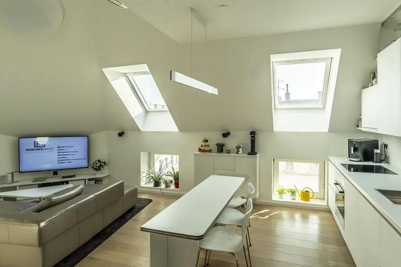 Recupero sottotetto- come sfruttare al meglio l'illuminazione e lo spazio con Velux