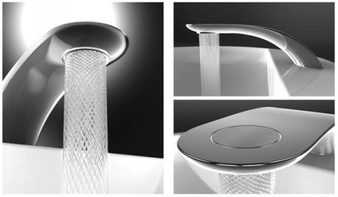 I fantastici giochi d'acqua del rubinetto Swirl