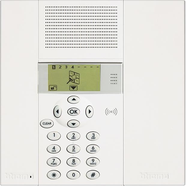 Impianto d'allarme Centrale Antifurto 3486 prodotto da bticino