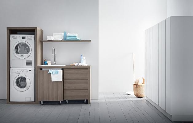 Idrobox di Birex: lavanderia con box a colonna