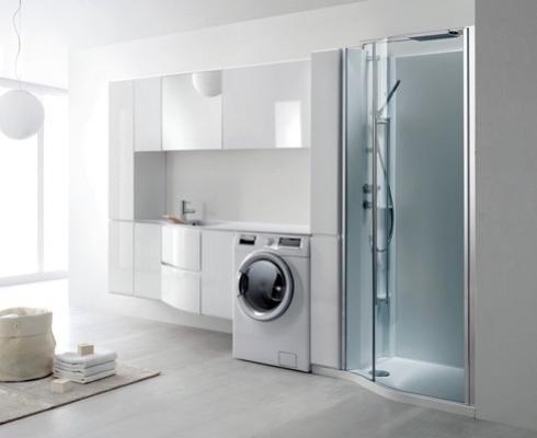 Mobili lavanderia geromin prezzi infissi del bagno in bagno - Mobili bagno con lavatrice a scomparsa ...