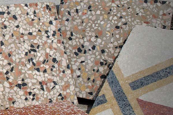 Pavimenti recuperati: la graniglia