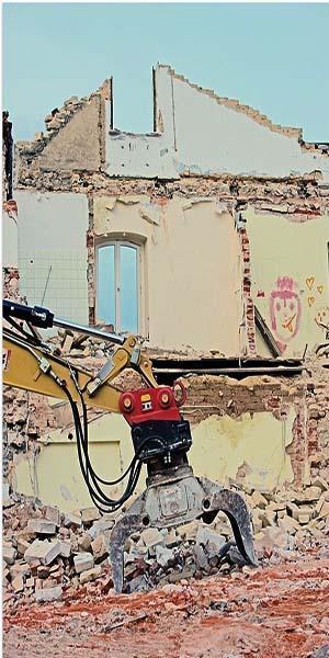 Recuperare i materiali da una demolizione