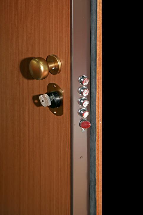 Caratteristiche delle porte blindate for Serratura bloccata chiave non gira