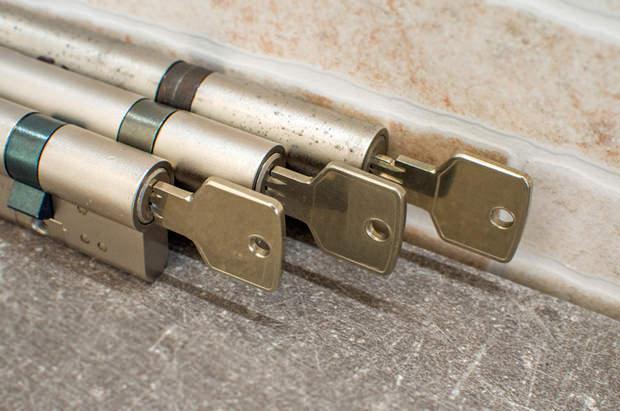 Serratura a cilindro per porta blindata