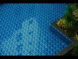 Rivestimento piscina realizzato in ceramica
