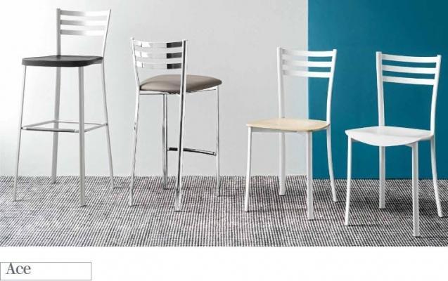 Per la cucina moderna la sedia modello Ace di Connubia by Calligaris