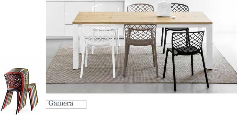 comode e avvolgenti le sedie da cucina gamera di connubia by calligaris