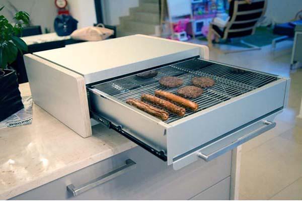 Barbecue a prova di fumo: Pepegrill versione one