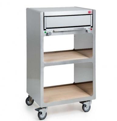 Barbecue-forno: pepegrill su base mobile