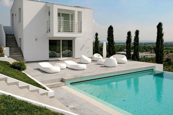 Foto arredamento per il bordo piscina - Bordo perimetrale piscina prezzi ...