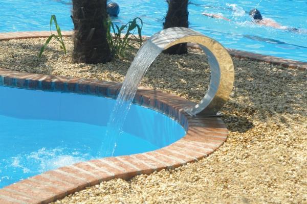 Cascata piscine di Blu