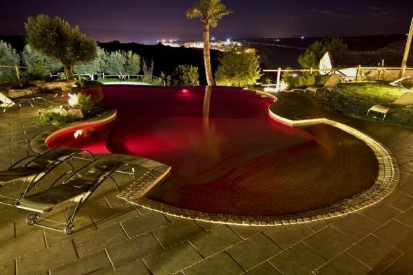Led colorati piscina Solaris