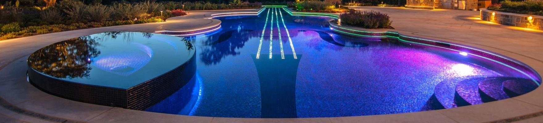 Illuminazione piscina Solaris