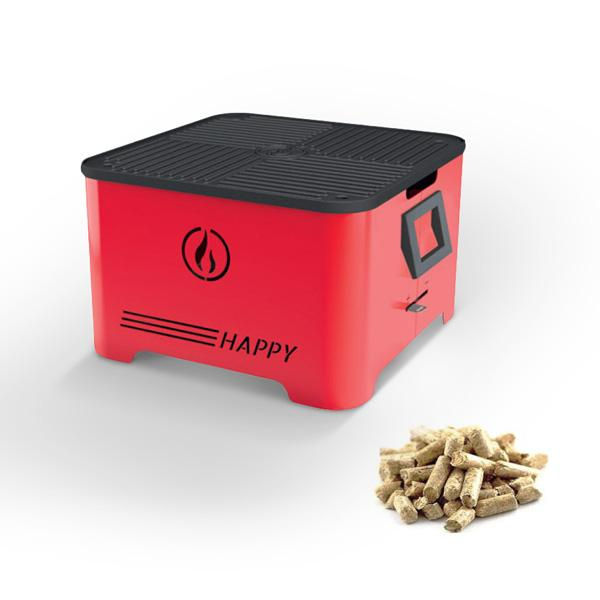 Barbecue a pellet HAPPY di Linea VZ SRL