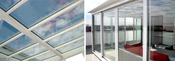 Realizzazioni MILGLASS in alluminio e vetro
