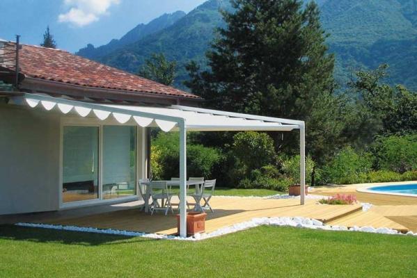 Strutture in alluminio e vetro - Soluzioni per copertura terrazzi ...