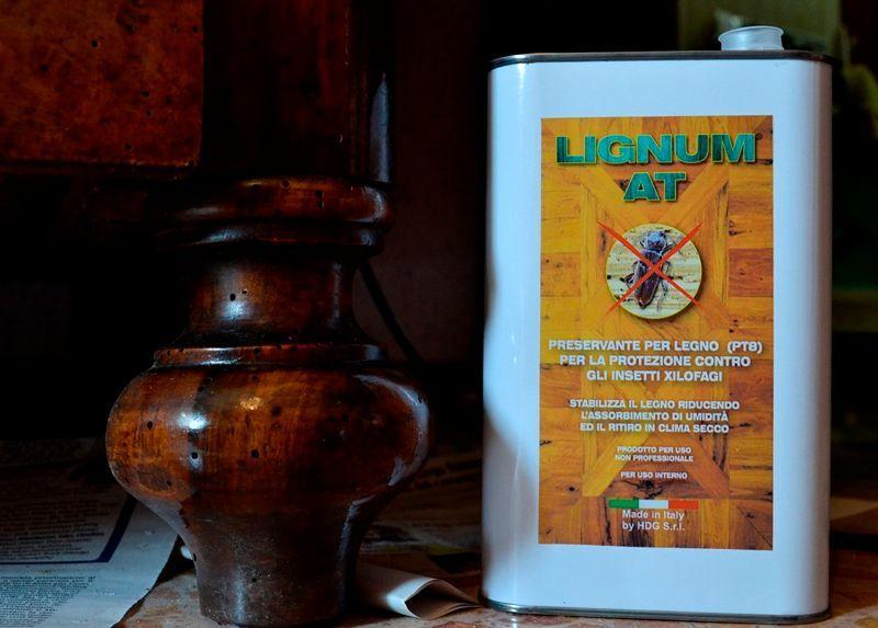 Antitarlo legno: Lignum AT di HDG