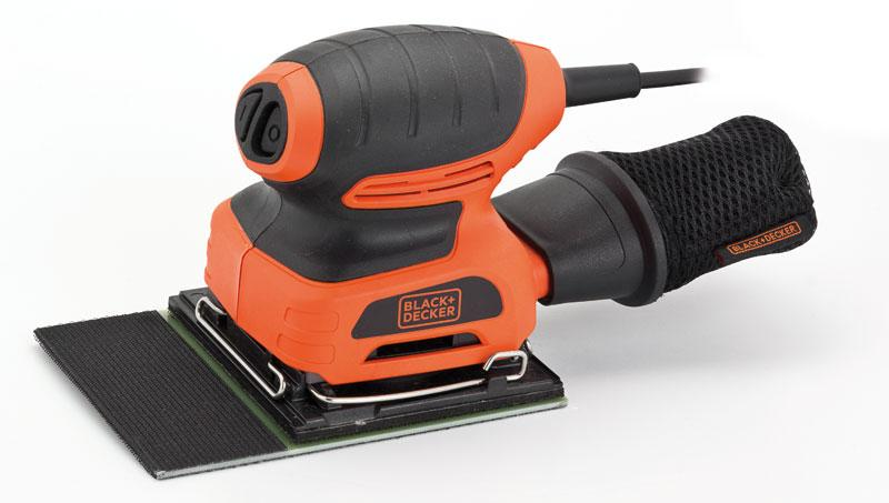 Levigatrice orbitale BLACK+DECKER