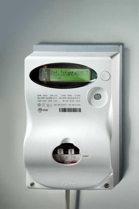 Contatore Enel : Smart Meter