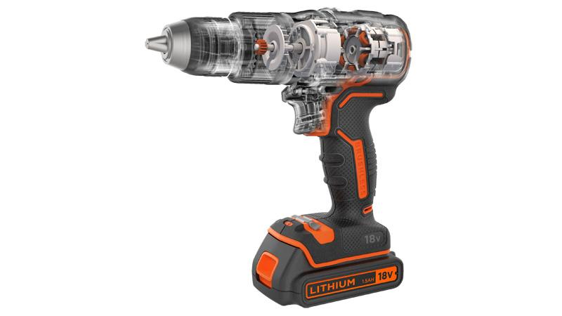 Trapani professionali BLACK+DECKER con tecnologia Brushless