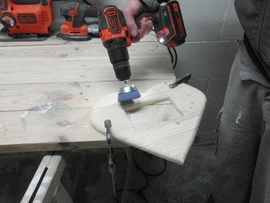 Accentuazione delle venature del legno