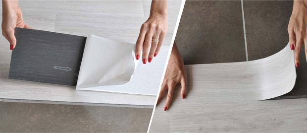 Posa pavimento sovrapponibile vinilico Flexxfloors di Kimono S.p.A.
