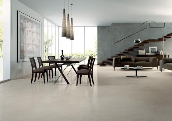 Pavimento sovrapponibile in gres Slimtech Re-Volution di Lea Ceramiche