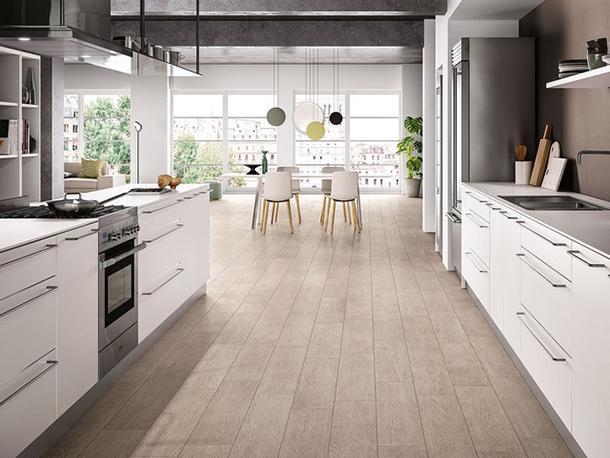 ristrutturare casa rivestire il pavimento - Piastrelle Effetto Legno Senza Fughe
