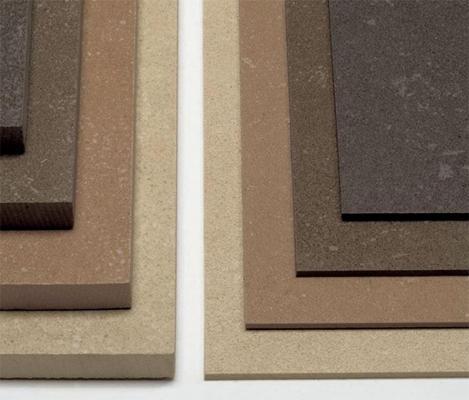 Rivestimento pavimenti con Kerlite cotto d'este 3mm