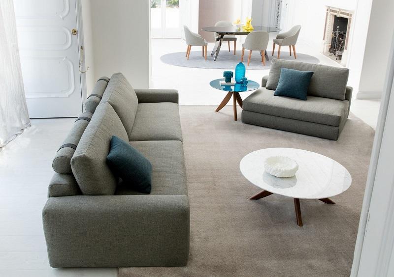 Cosa Mettere Dietro Al Divano : Come disporre il divano