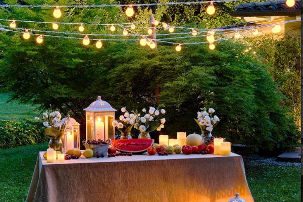 Allestire il giardino per una festa all 39 aperto for Organizzare il giardino di casa