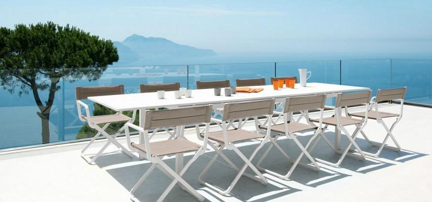 Feste in giardino: tavolo Flat di Ethimo
