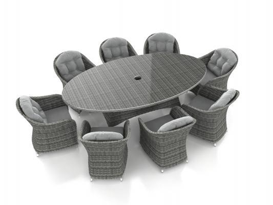 Tavolo giardino Livia XL di Artelia