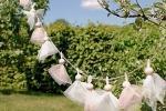 Ghirlande Tulle giardino appesa blog DaWanda