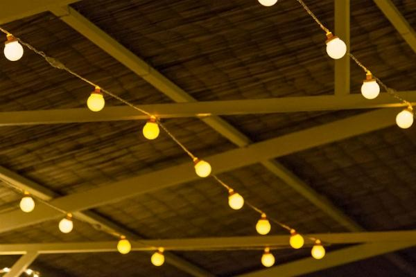 Fili di luce da giardino Luminal Park