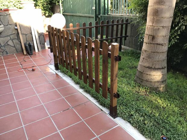 Staccionate in legno prezzi for Staccionata in legno brico