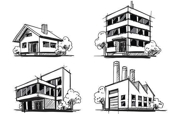 Disegno tecnico for Disegni di case in prospettiva
