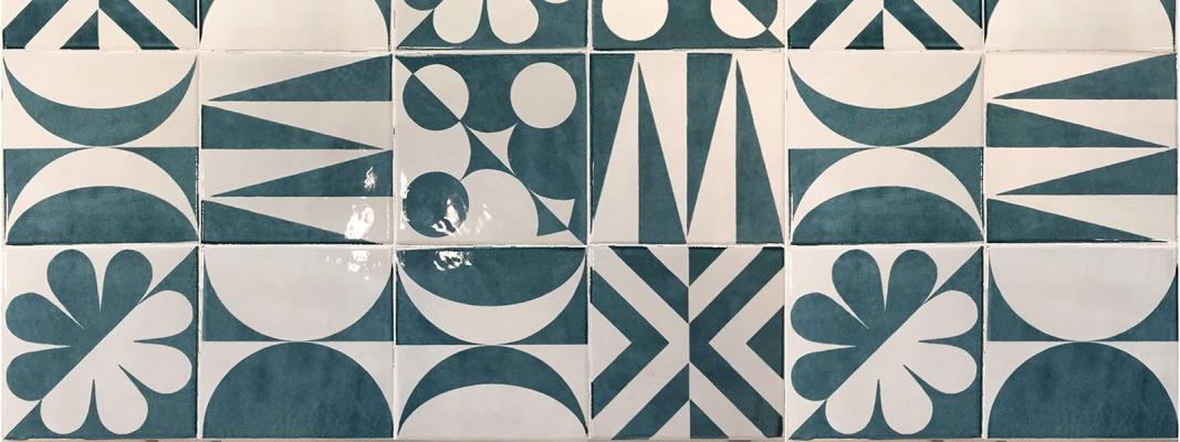 Collezione Riflessi del Tempo del Consorzio Vietri Ceramic Group