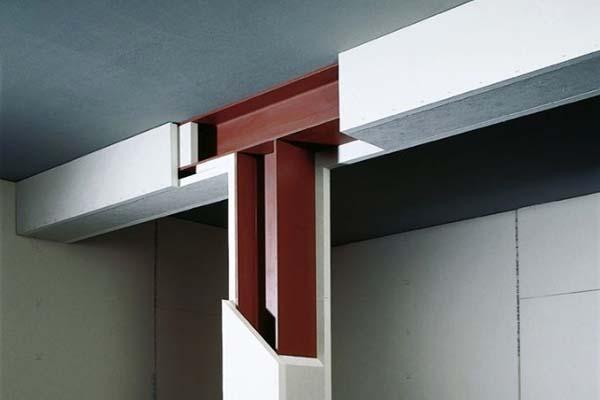 Cartongesso: protezione strutture metalliche con lastre Knauf Fireboard