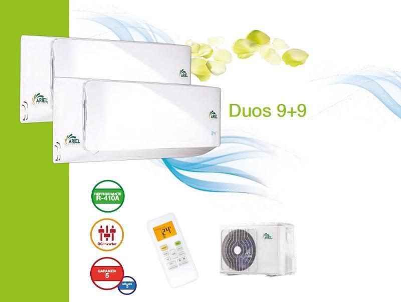 Climatizzatore ad inverter Duos 9+9