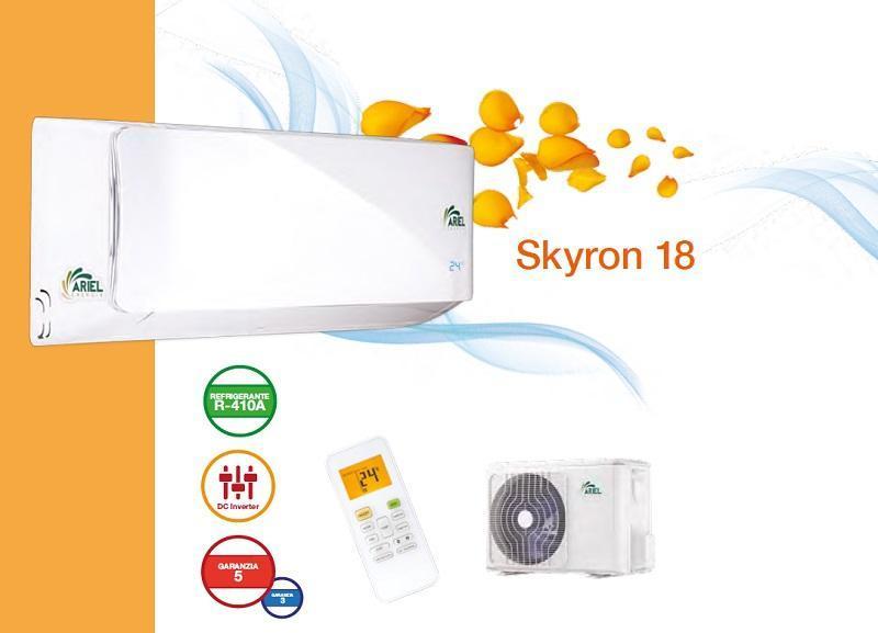 Climatizzatore inverter Skyron 18 Ariel