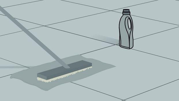 Come pulire un pavimento in gres porcellanato