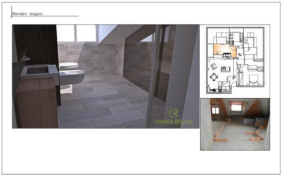 Progetto mansarda: realizzare una zona lavanderia in bagno