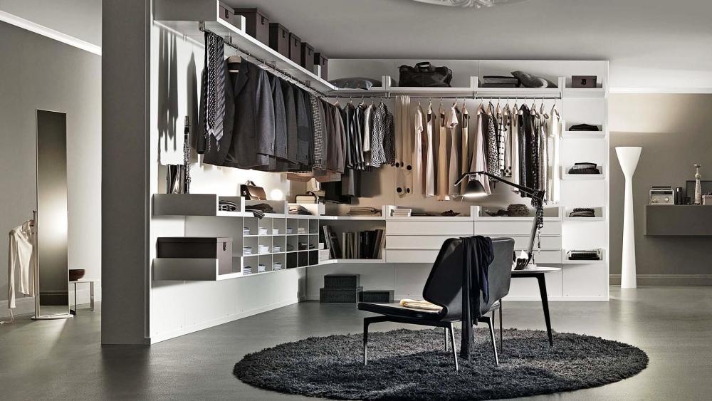 Officina Design Lema Novenove: cabina armadio angolare
