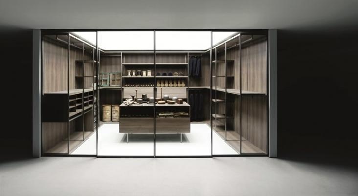 Cabine armadio nella zona notte cabina armadio nella zona notte - Attrezzature per cabine armadio ...