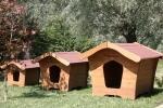 La Pratolina: cucce per cani in legno per piccola, media e grossa taglia