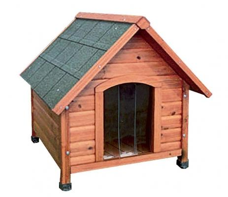 Cuccia Igor Raggio di Sole: tetto con guaina impermeabile e tendina
